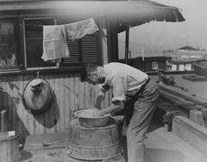Washing up - stock photo