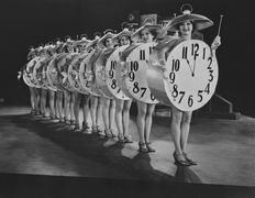 Time keepers - stock photo