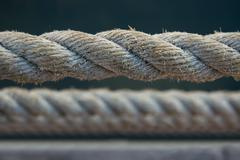 Marine rope made by cezal - stock photo