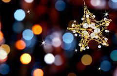 Christmas star valot Kuvituskuvat