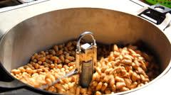 Roasted nuts Stock Footage