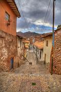 cusco - stock photo