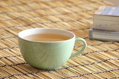 green tea mix ginseng - stock photo