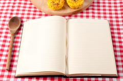 cookbook - stock photo