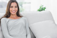 Stock Photo of Pretty woman relaxing