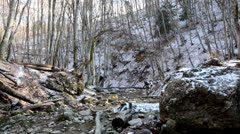 Stock Video Footage of Rivulet In Crimea