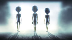Stock Video Footage of aliens