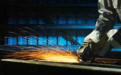 grinding - stock photo