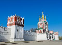 novodevichy convent - stock photo