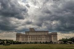 """""""people's house"""" in bucharest. Stock Photos"""