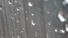 Water Drops on glass 140GYRD_2490 PAL Stock Footage