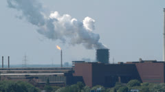 Power station Hamborn Stock Footage