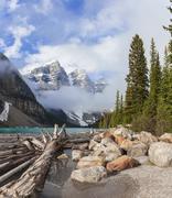 Stock Photo of moraine lake, banff national park, alberta, canada