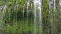 Mossbrae Falls closeup (lockdown) Stock Footage