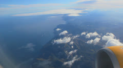 Aerial View - Flying Over Sea. Mallorca, Balearic Islands, Spain - 7 Stock Footage