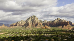 Sedona, Arizona time lapse - stock footage
