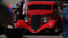 Hot Rod Full Frontal - stock footage