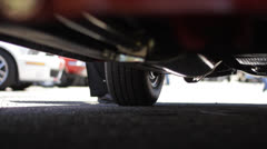 Chevy BelAir Undercarriage Stock Footage