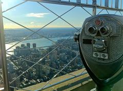 View from Empire State Building Stock Photos