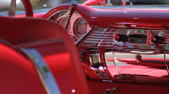 Chevy BelAir Interior Stock Footage