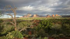Sedona, Arizona morning - stock footage