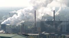 Coking Plant Prosper in Bottrop, Germany Stock Footage