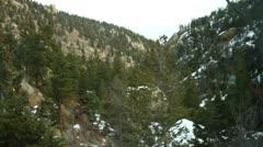Cog Railway at Pike's Peak Stock Footage