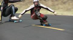 Skateboard, skateboarder, skateboarding - stock footage