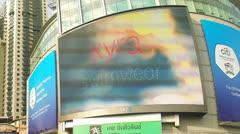 Bangkok traffic timelapse Stock Footage