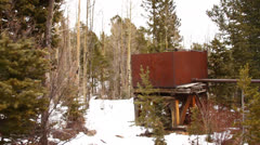 Pike's Peak Train Ride Stock Footage