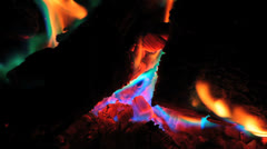 Fire Flame 4 Stock Footage