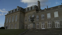 Stately home Boughton House( Northamptonshire) Stock Footage