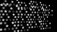 Stock Video Footage of Animated star pattern background