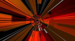 Digital radial ray Stock Footage