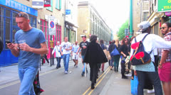 London - Street Scene, Brick Lane (Part 3) Stock Footage
