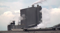 Stock Video Footage of Factory, Manufacturing, Industrial, Pollution, 2D, 3D