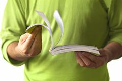 Stock Photo of men with book