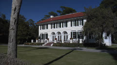 Cherokee Cottage on Jekyll Island, Georgia 2 - stock footage