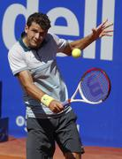 Bulgarian tennis player Grigor Dimitrov Stock Photos