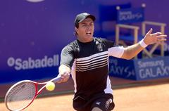 Argentinian tennis player Carlos Berlocq Stock Photos