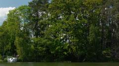 Lake shore Stock Footage