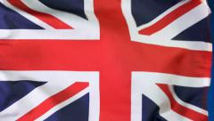 Flag of England Stock Footage