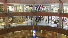 Dubai Mall timelapse Stock Footage