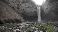 Taughannock Falls Stock Footage