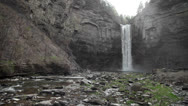 Stock Video Footage of Taughannock Falls