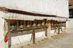 Tashilhunpo monastery, tibet Stock Photos