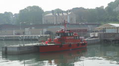 Pilot boat - stock footage