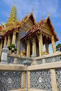 temple of emerald buddha - stock photo