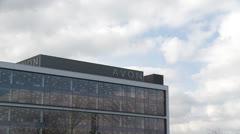 Avon offices(Northampton) time lapse Stock Footage