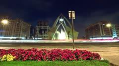 Deira Dubai Clock Tower Stock Footage